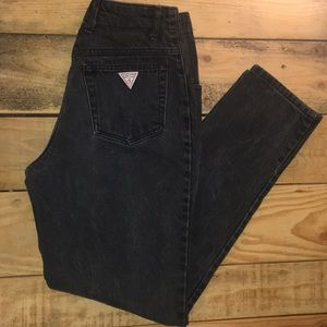 🖤Black Vintage Guess Button Fly Jeans